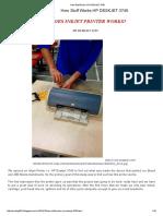 How Stuff Works Hp Deskjet 3745