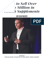 How I Sold $50 Million In Supplements