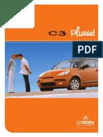 C3 Pluriel Brochure