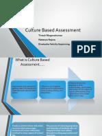 Culture Based Assessment
