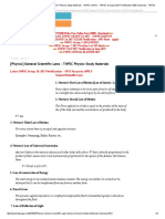[Physics] General Scientific Laws - TNPSC Physics Study Materials - TNPSC GURU - TNPSC Group 2A 2017 Notification 1953 Vacancies - TNPSC