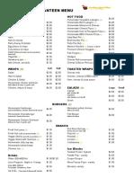 pnps menu 2017