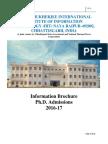 PhD Information Brochure