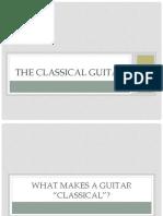 Mozart's Gym Guitar Presentation