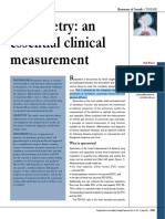 Spirometry an Essential Clinical Measurement