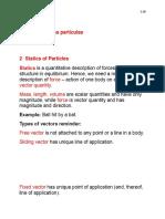 2 Statics of Particles