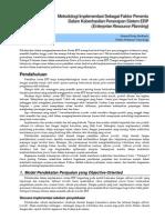 Metodologi Implementasi ERP System