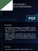 Apresentação - Letramento digital e formação de professores (1).pptx
