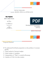 Marx Growth Theory(2)
