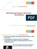 Neoclassical Theory of Economic Development (1)