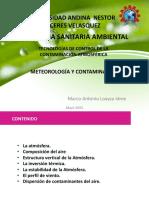 Metereología y Contaminación