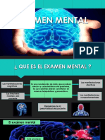 Examen Mental Semifinall