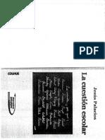 La cuestion Escolar Jesus Palacios.pdf