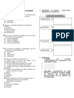 Ficha Sobre Taxonomía