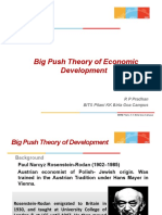 Big Push Theory(1)