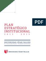 Plan Estrategico UCV 2013-2015