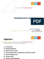 RPP Modernisation Theory