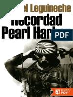 Recordad Pearl Harbor - Manuel Leguineche