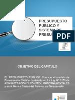 Presupuesto Publico y Sistema de Presupuesto