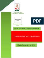 Estructura Programa Capacitacion2