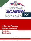 Índice de Pobreza Multidimensional - Matilde Chávez de Álvarez