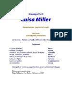 Luisa Miller - libretto