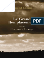 Renaud Camus - Le Grand Remplacement