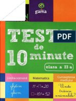 Carti. Teste.de.10.Minute. Clasa.2. Ed.gama