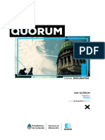 Hay Quorum - Capitulo 1