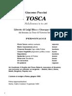 Tosca - libretto