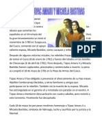 Tupac Amaru Ll y Micaela Bastidas