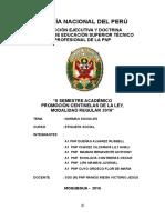 Monografia Etiqueta Social Normas Sociales - A1 Pnp Chavez Vilcarani - Agosto 2016