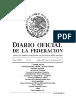 Acuerdo 593 Programas de Estudio de La Asignatura de Tecnologia