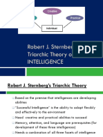 sternbergs triarchic theory ppt  1