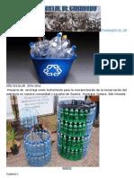 Proyecto Reciclaje de Botellas.