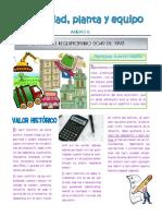 Anexo 5 Propiedad, Planta y Equipo.