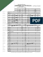 00 - Overture From 'Il Barbiere Di Siviglia' (G. Rossini, Arr. F. Cesarini) - SCORE
