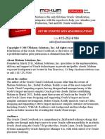 Oracle Enterprise Manager 12c Installation 01-27-15