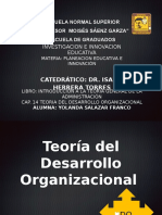 Cap 14 Teo Desarrollo Organizacional