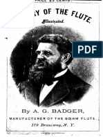 Badger - Flute, History and Construction - Text