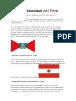 Bandera Nacional Del Perú