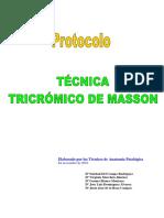 Tecnica Tricr0mico de Masson