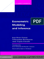Jean-Pierre Florens, Velayoudom Marimoutou, Anne Peguin-Feissolle Econometric Modeling and Inference Themes in Modern Econometrics 2007