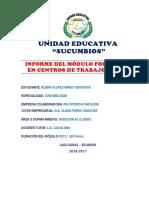 Informe Final de Fct -