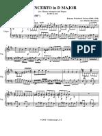 Pianopartij Fasch