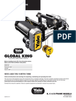 Yale Global King - Shaw-Box World Series Wire Rope Hoist - 5 to 15 Ton V3