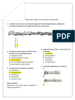 Cuestionario Musica Clásica