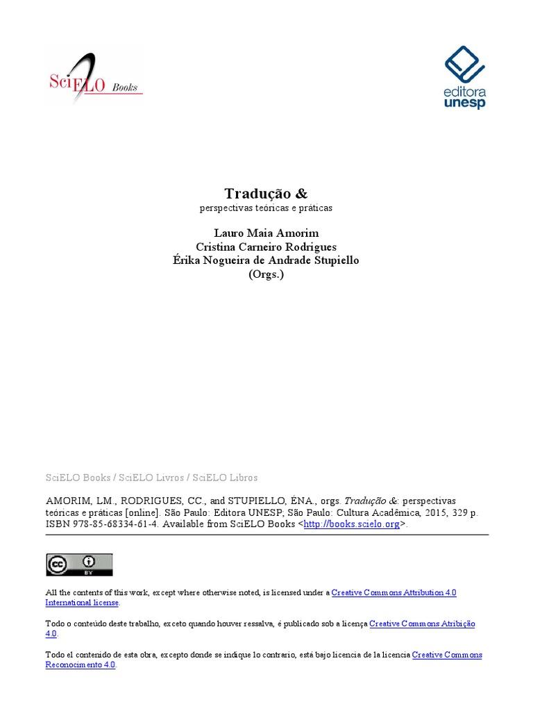 Traduo perspectivas tericas e prticas fandeluxe Gallery