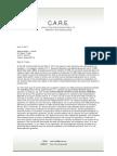 CARE Letter to Trujillo 6-13-17