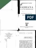 Sadhana Rabindranath Tagore